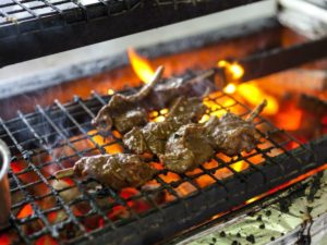 Charcoal-fired meat will be Kai's staple offering