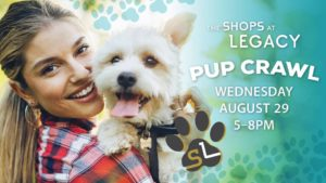 Join the 2018 Shops at Legacy Pup Crawl to support Habitat 4 Paws